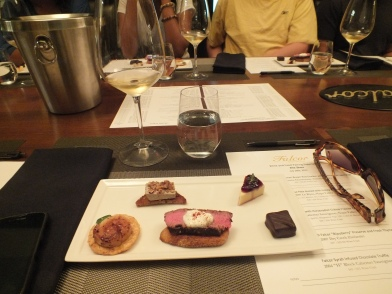 Falcor Winery Food & Wine Pairing